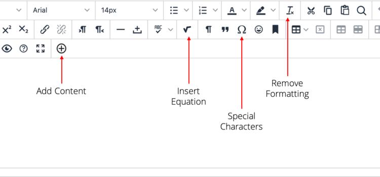 Introducing Blackboard's Updated Content Editor